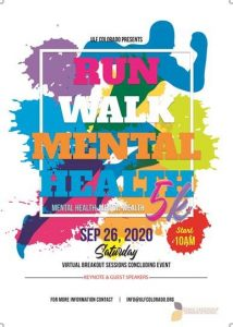 Virtual 5k for Mental Health and Expo 2020