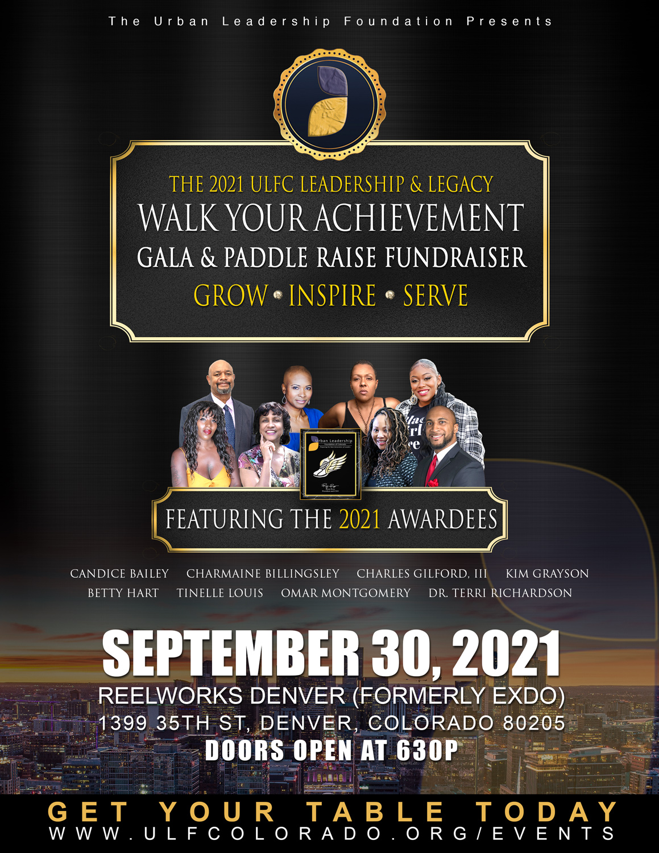 2021 Walk Your Achievement Gala Fundraiser