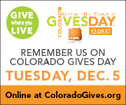Remember ULF Colorado on Colorado Gives Day, Tuesday, December 5th.