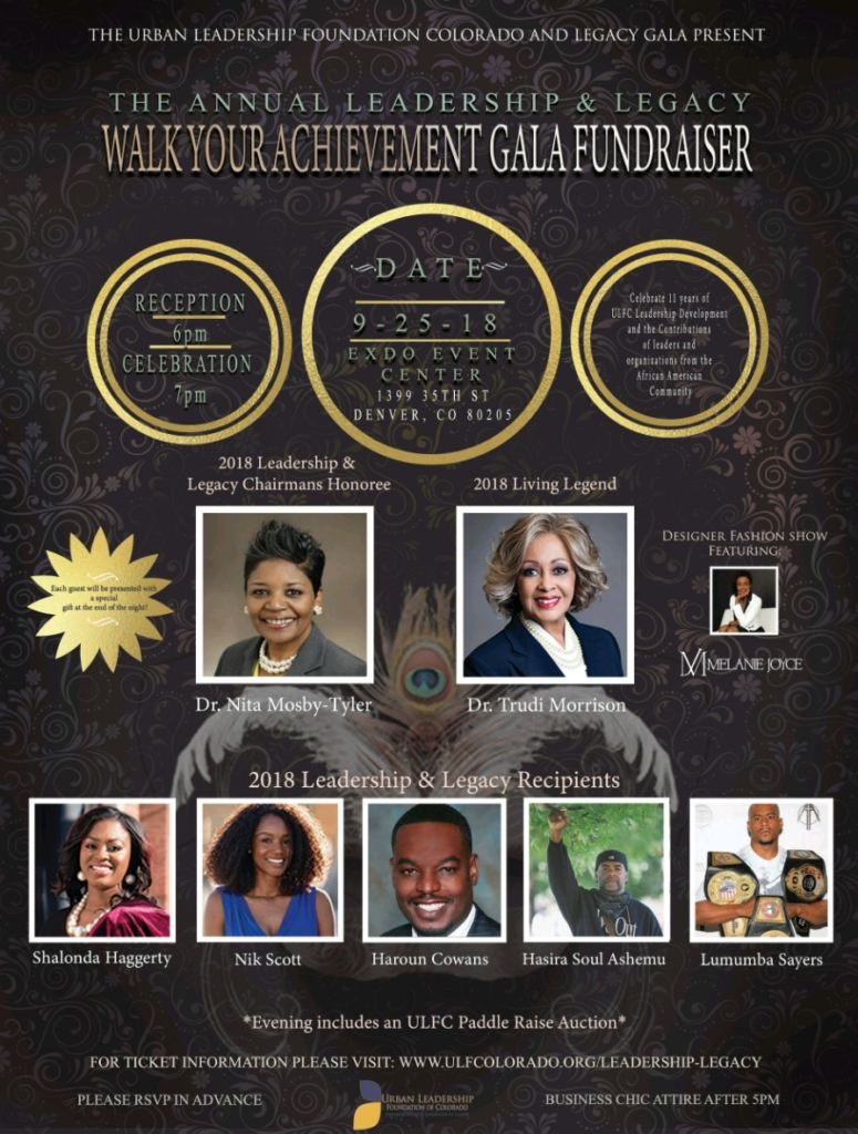 Register for the Leadership and Legacy Gala and Fundraiser