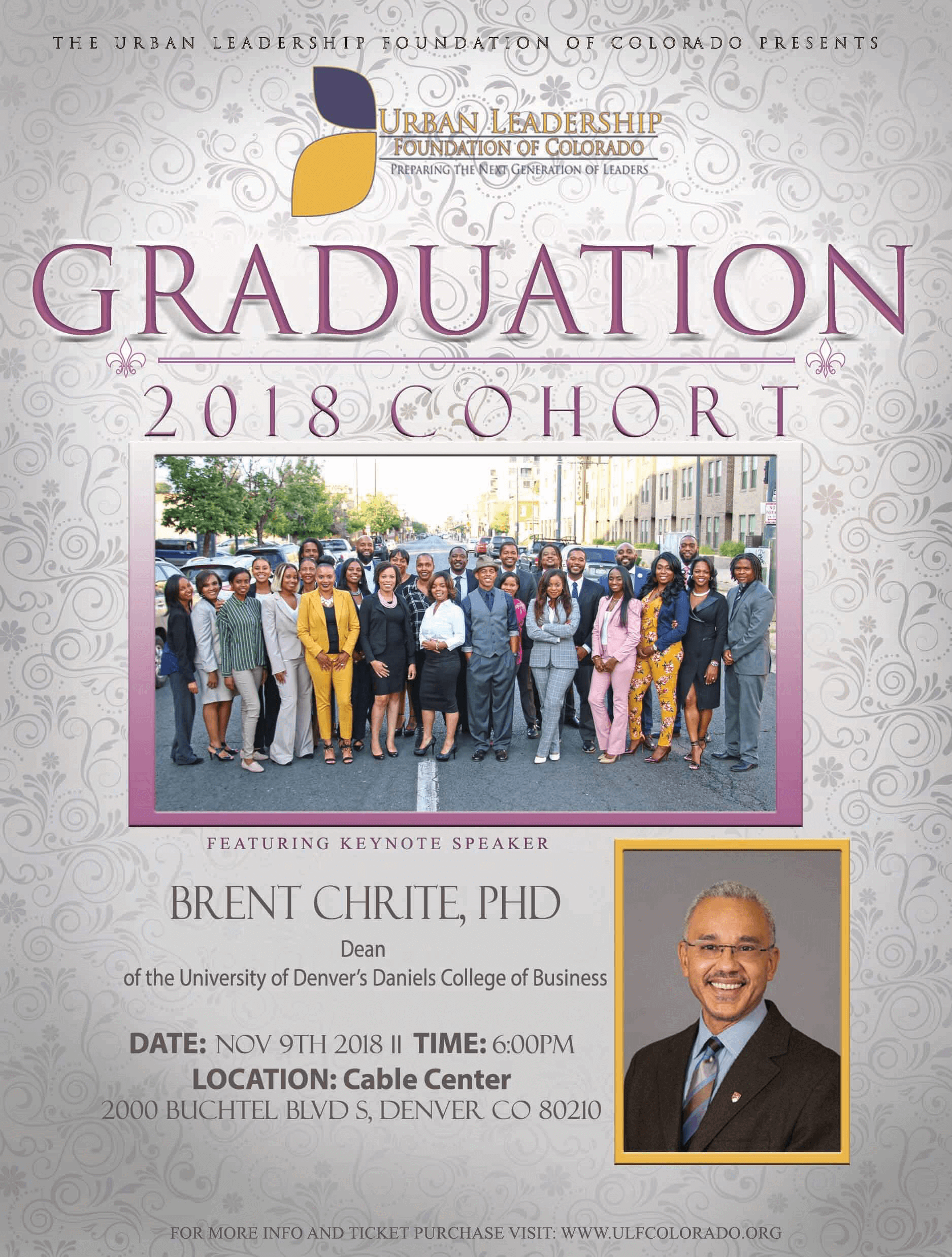 2019 Urban Leadership Foundation Cohort Graduation