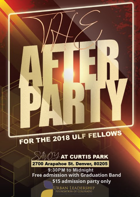 The After Party for the 2018 Fellows