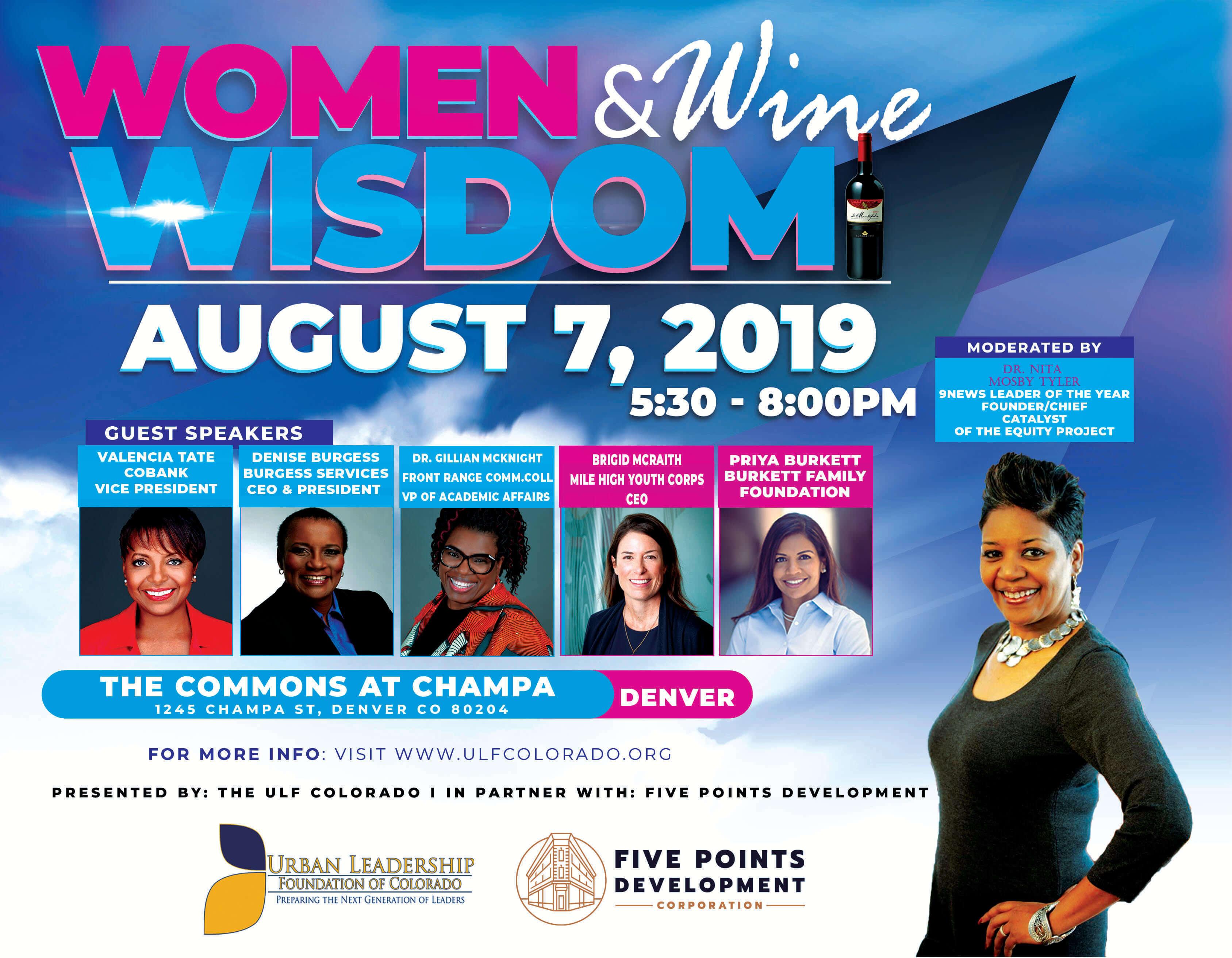 2019 Women Wisdom & Wine